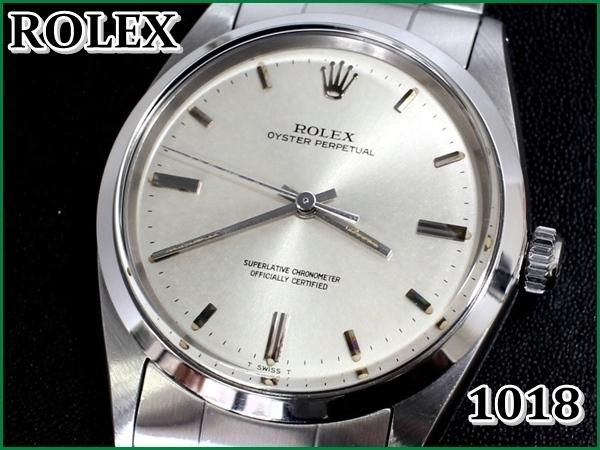 hot sales 535aa a288f ROLEX 1018 オイスターパーペチュアル【希少】1967年・箱保付 ...