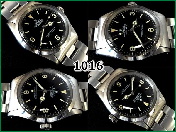 info for 4141e 18563 ROLEX 1016 エクスプローラーⅠ【後期1981年】ドーム風防w/Box ...