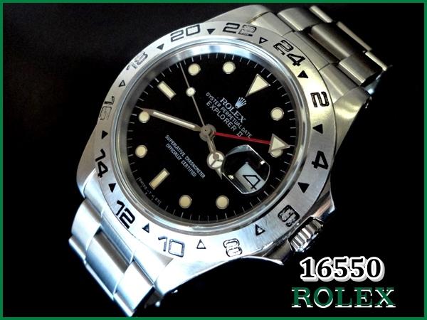 uk availability 58116 34445 ROLEX 16550 エクスプローラーII【スパイダーダイアル】1985年 ...